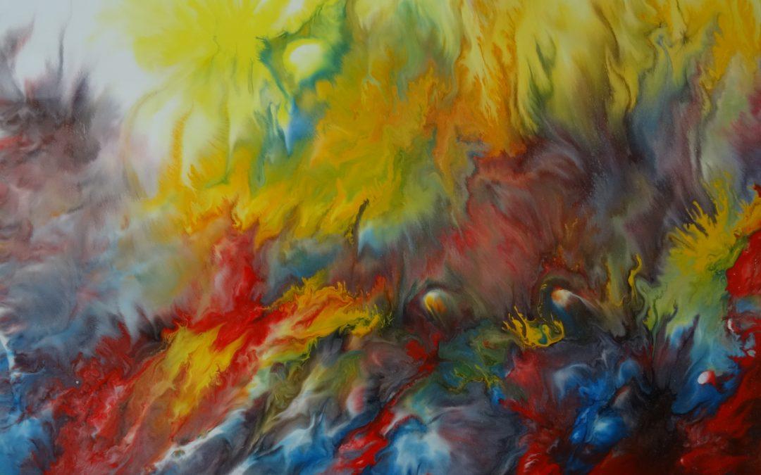 """Expoziţie de pictură – """"Cu primavara in suflet"""" – Slatina"""